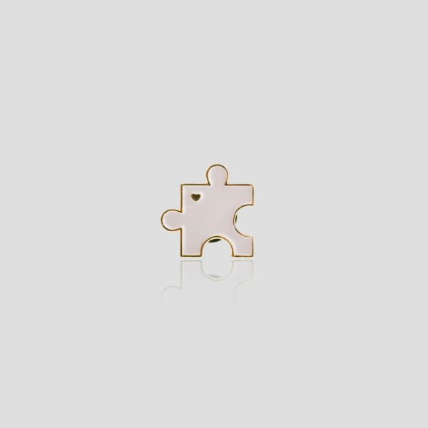 Fioletowy puzzel